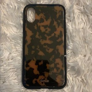 Sonix tortoise shell iphone xs case